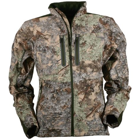 Guide Gear Men S Whist Full Zip Hunting Jacket With W3