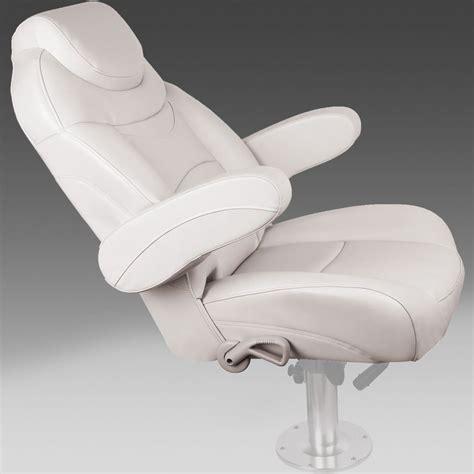 Captain Boat Seats by Reclining Pontoon Captain S Seat Pontoonstuff