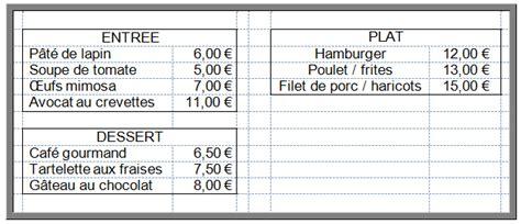 logiciel de cuisine espace pédagogique mathématiques commande au restaurant