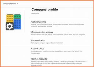 8 sample format of company profile in word company With how to make a company profile template