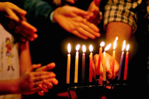 when do you light the menorah 2016 how to celebrate hanukkah at home my jewish learning