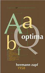 optima type face poster | Graphic Design | Typography ...