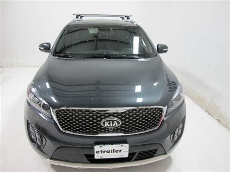 kia roof rack thule roof rack for kia sorento 2017 etrailer