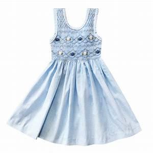 bibikovna robe vichy bleu ciel With robe vichy bleu