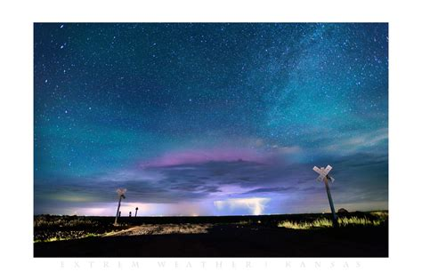 kc northern lights jeff berkes photography posters thunderstorm