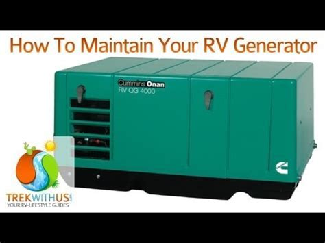 Change The Coolant In Your Onan Diesel RV Generator   How
