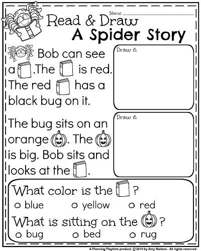 October Kindergarten Worksheets  Teachers Pay Teachers  My Store  Pinterest Kindergarten