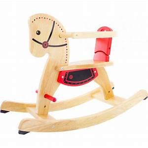 Jouet A Bascule Exterieur : jouets des bois cheval a bascule shetland pintoy 09535 jouet en bois ~ Teatrodelosmanantiales.com Idées de Décoration