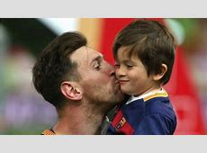 Lionel Messi's Oldest Son, Thiago, Is Falling In Love With