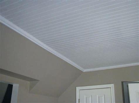 Lowes Beadboard Paneling : Faux Beams Beadboard Ceiling Tiles Lowes