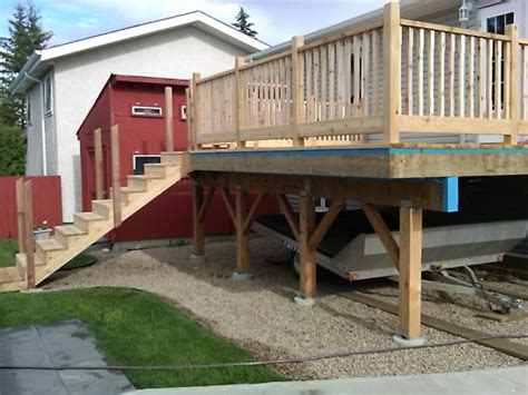4x4 deck post setting deck posts 4x4 in concrete