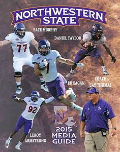 2015 Northwestern State Football Media Guide by ...