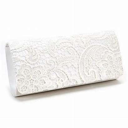 Clutch Bag Lace Evening Purse Handbag Floral