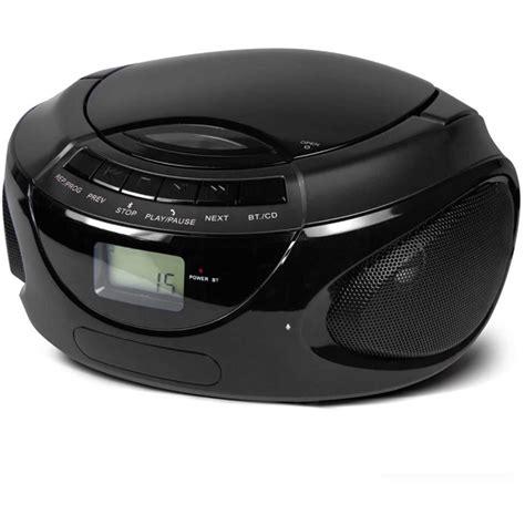 bluetooth cd player buddee cd player am fm radio bluetooth audio big w