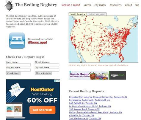 Bed Bug Registry bed bugs in fort lauderdale hotels broward county pest