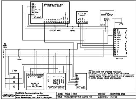 cornell call wiring diagram 33 wiring diagram