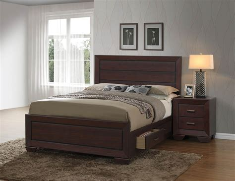 Coaster Fenbrook Bedroom Set  Dark Cocoa 204390bedroom