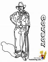 Cowboy Coloring Pages Sheets Ride Cowboys Sheet Boys Yescoloring Em Pic Westerns sketch template