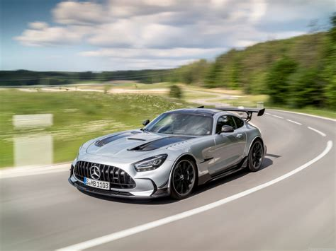 For 2021, mercedes adds a base 43 model to the lineup that isn't as powerful as the 53 model but still packs plenty of punch. Mercedes-Benz AMG GT Black Series (2021) - picture 16 of 210