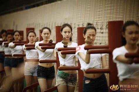 wing chun girls training  china martial arts women