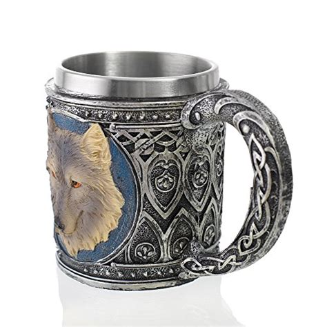 Mastering the craft of coffee since 1990, using only top grade, organic and fair trade arabica beans, roasted to perfection using small batch roasting. 3D Wolf Coffee Mug,Cute Animal Wolf Shaped Stainless Steel Drinking Cup - Save gray wolf