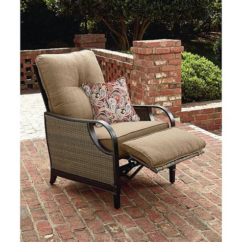 la z boy lazy outdoor furniture patio recliner