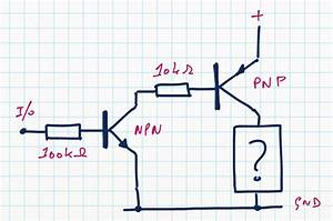 Switches - Pnp To Npn Transistor Switch