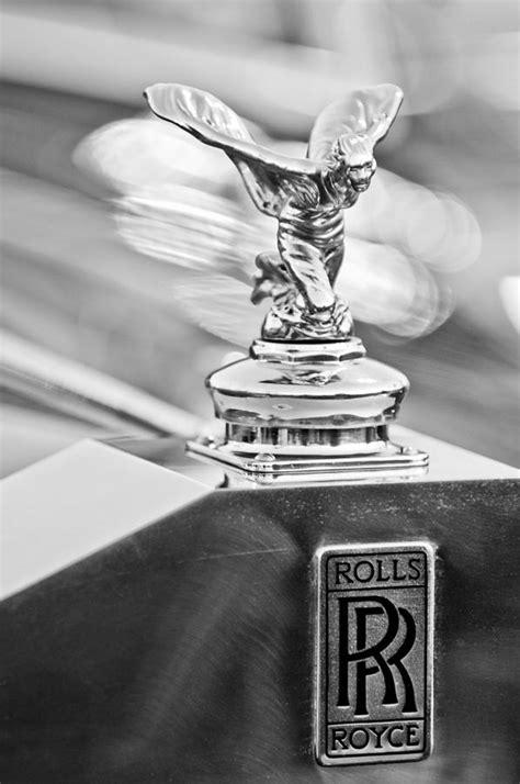 rolls royce hood ornament 1952 rolls royce silver wraith hood ornament 2 photograph