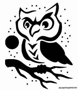 Printable Pumpkin Carving Patterns | Cute Owl Pumpkin ...