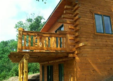 Take a left into private drive, down the. Private Creekside Amish Log Cabin - Black River Falls ...