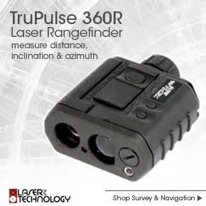 environmental monitor point shoot and measure trupulse rangefinders
