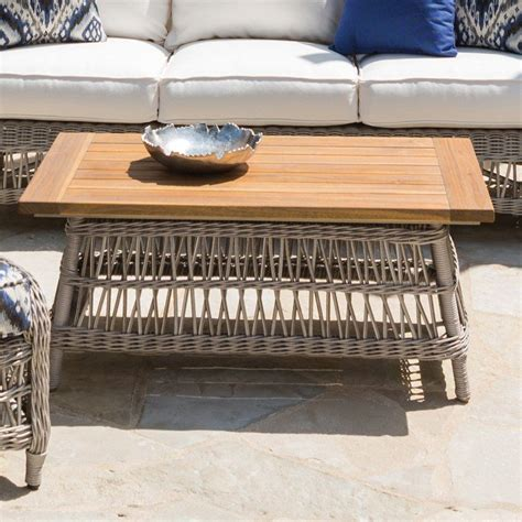 On this page you will find a complete list of coffee shops in venlo. Outdoor Lloyd Flanders Mackinac Rectangle Coffee Table - 273044 | Coffee table, Coffee table ...