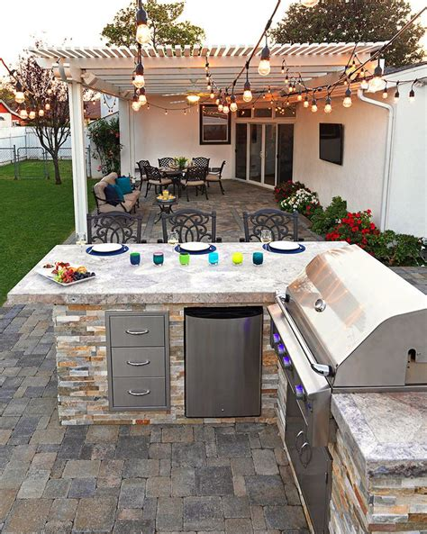 best 25 built in bbq ideas on