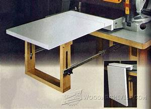 Thickness Planer Extension Table • WoodArchivist