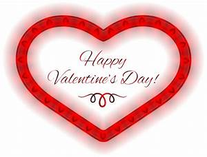 Happy Valentines Day Heart Clipart - Valentine's Day Pictures