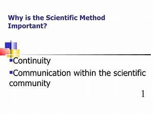 Biology Scientific Method