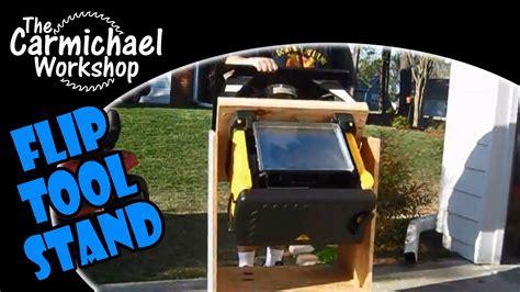 flip tool stand demo diy space saving tip   small