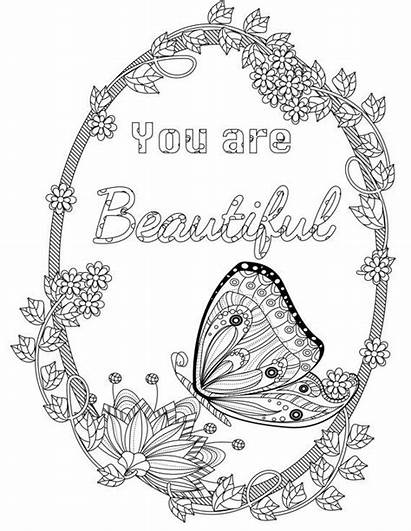 Coloring Pages Colouring Books Inspirational Adult Quotes