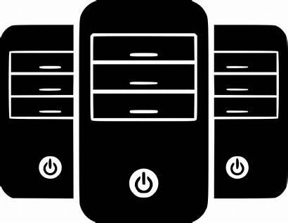 Icon Servers Server Svg Hosting Towers Onlinewebfonts