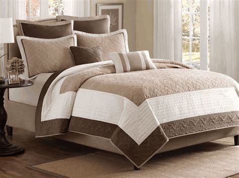 What Is A Coverlet by Attingham Brown Ivory 7 Coverlet Set