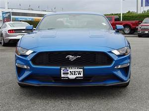2019 Ford Mustang EcoBoost® Premium Velocity Blue, 2.3L EcoBoost® Engine | Dams Ford Lincoln ...