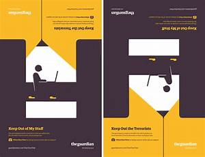 The Guardian's 2-Faced Print Ads Urge You To Take A Stand ...