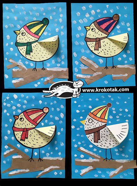 krokotak winter bird