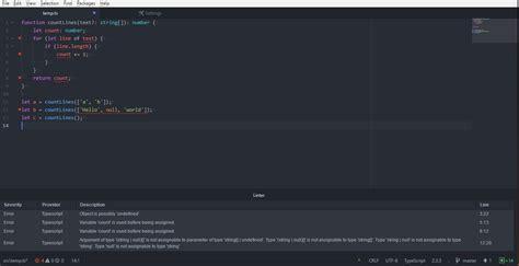Atom Typescript Not Displaying Errors (typescript