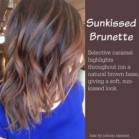 New Hair Colors For Brunettes by Sun Kissed Color Might Be My New Color For