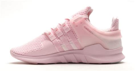 all light pink adidas adidas eqt support adv pink sole collector