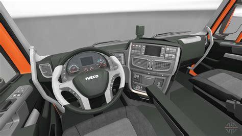 nouvel interieur tracteurs iveco pour euro truck simulator