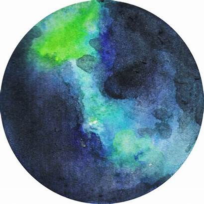 Earth Materials Crafts Easy Planet Watercolor Space