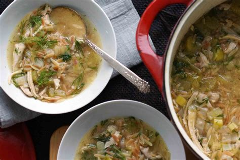 chicken and dill soup lemony chicken orzo soup with dill strawberryplum