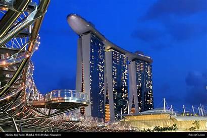 Singapore Marina Bay Desktop Background Sands Seyeneco